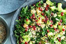 salater m kål