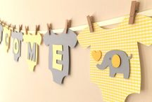Baby welcome decoration