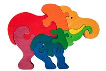 Montessori puzzles and toys