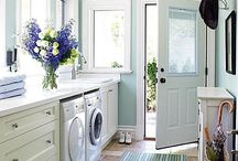 Fancy  Laundry Rooms / by Ashley Foster