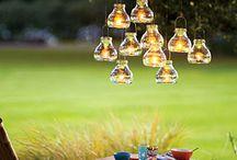 Light in the garden