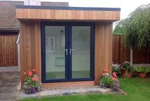 Small Garden Rooms / Offices / A selection of the smallest garden rooms and offices