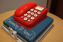 Taart telefoon / Cake telephone