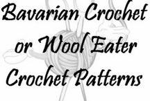 Bavarian or wool eater crochet