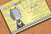 batman baby shower