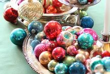 Vintage Ornaments / by Helen Maddox