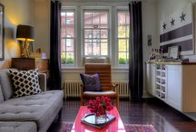 Small spaces / Tips and tricks for decorating apartments and rentals.