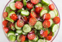 Veggie Recipes / Adding a little color and nutrition to the menu