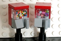 Lego BubbleGum Machines