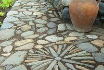 Stone pathway magic