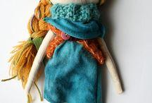 rag dolls / handmade ragdolls
