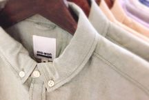 Buttons on Shirt / A collection of shirts around the world.