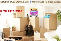 Systematic And Well Organized Shifting Services Of Bangalore Packers And Movers