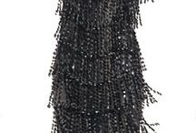 black tassels