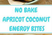 Energy Bites, Balls, and Bars Recipes / Energy Bites, Balls, and Bars Recipes