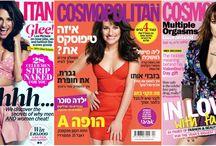 A evolução de Lea Michele em capas de revista