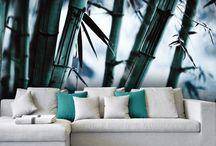 Dekoracje ścian / Fototapety z motywami roślinnymi i kwiatowymi.