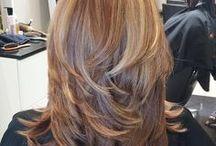 layerd hair