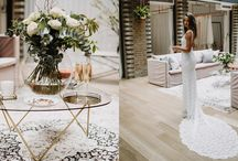 LONDON SHOWROOM / Featuring feminine blush tones and rich greenery, perfectly complemented by brushed gold and marble accents, our London Showroom is a haven for European brides-to-be. From the moment you step into this luxurious and welcoming space, you can feel the GLL energy and experience our signature aesthetic and service.