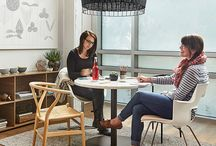 Office Renaissance / Step away from the sea of beige and 9-5 workday. Embrace a more balanced space to work that fosters emotional, cognitive, and physical well-being.