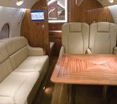 Aviation Installations / Installation photos in the aviation industry that feature Garrett Leather.