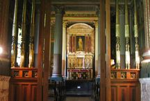 Private Chapels - English Country Homes / A great many of lavish English country estates had their own private chapels that were available for family members as well as their servants.