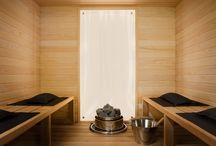 Home interior: Sauna