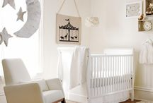 Baby nursery - neutral tones and textures