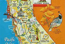 USA Maps / USA Maps Roadtrip Westcaost