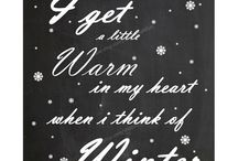 We love winter......