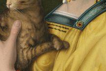 kot w malarstwie
