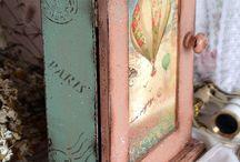 Patina,ahsap boyama / by Başak Doğru