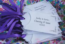 Wedding Favors/Escort Cards / Favor ideas, escort card ideas or a combo of both.