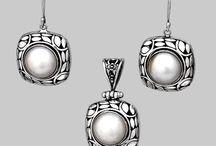 Seturi / Accent Bijuterii - Seturi din argint, lucrate manual, unicat şi cu pietre naturale semipretioase.