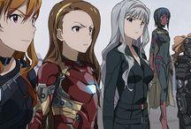 Marvel Comic and Movie