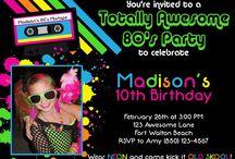 Birthday parties!! / by Mikal Murph