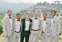 Groom & Groomsmen / Top ideas for groom and groomsmen. Groomsmen suits, attire, accessories, boutonnieres, rings and gifts for all styles of wedding. Collect groom photo inspiration to make gorgeous look. Visit WeddingForward.com for more groom & groomsmen gifts & advice.
