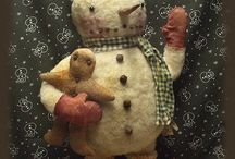 My primitive pattern doll designs Etsy