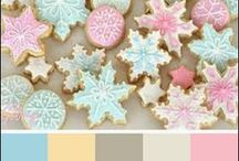 Pink, Blue & Cream Card Inspiration / Color inspiration for handmade cards from KraftOutlet.com