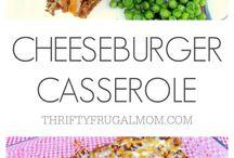 Casseroles / Dinner time