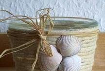 seashell crafts / by Marika Stola