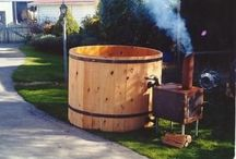 wood fired hot tube