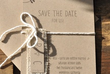 Save the date/ invitation