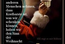 Weihnachtsverse u. Gedichte