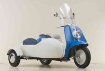 """The """"Topper"""" / 165cc 2 -cycle Harley Davidson motor scooters made by the motor company from 1960-65 / by DeWitt Harkness"""