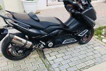 TMAX 530 CUSTOM MADE / TMAX 530 KOS ISLAND GREECE