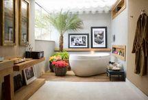 Красивая ванная / Давайте рассмотрим ванную комнату как часть интерьера, а не просто уголок для принятия душа.