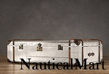 Aviator Furniture (Chairs,Tables,sofa,Desk,Trunks,Coffee Tables,Bookcase etc...) by NauticalMart