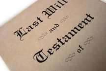 Wills and Probate / Articles by our fee earners and others