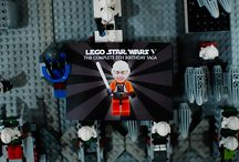 LEGO Star Wars Party / How to throw a LEGO Star Wars birthday party, including invitations, activities, decorations, and dessert table ideas.